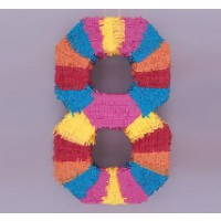 Numeral 8 Piñata