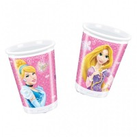 Disney Princess Glamour Cups 200ml 8CT.