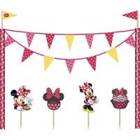Disney Minnie Cafe Cake Decoration Kit