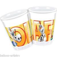 Olaf 200ml Cups  8CT