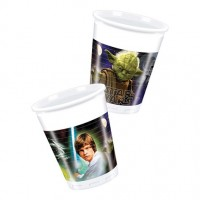 Star Wars Heroes 200ml Cups 8CT.