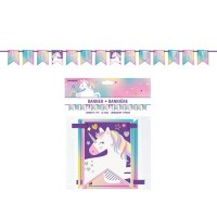 Unicorn Pennant Banner 7Ft 14 Flags