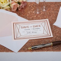Geo Blush - Save the Day Cards with Envelopes 10ct