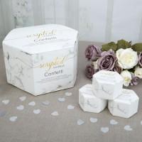 Scripted Marble - Tissue Confetti - 21ct