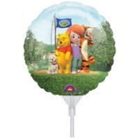 "My Friends Tigger & Pooh 9"" Air Inflation Foil Balloon"