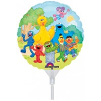 "Sesame Street 9"" Air Inflation Foil Balloon"