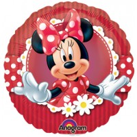 "Minnie Mouse - 9"" Air Inflation Foil Balloon"