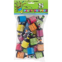 Party Poppers 25ct.