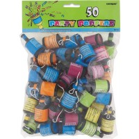 Party Poppers 50ct.