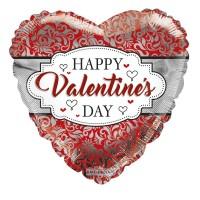 Happy Valentine's Day - Frame  18inch Foil