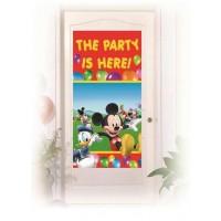 Door Banner - Playful Mickey