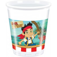 Jake Yo Ho Plastic Cups 200ml 8CT.