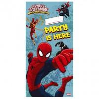 Personalized Door Banner - Ultimate Spider Man Web Warriors