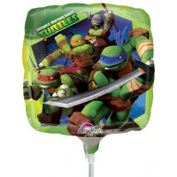 "Teenage Mutant Ninja Turtles - 9"" Air Inflation Foil Balloon"