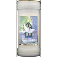 Pillar Candle - Holy Spirit - Pack of 4