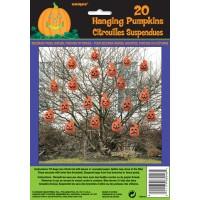 Hanging Pumpkin Leaf Bags 20ct