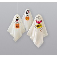Ghost Hanging Decorations 3ct