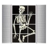 Ghost & Skeleton Window Silhouettes