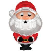 "Santa Christmas Shape 36"""