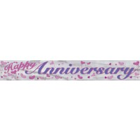 Happy Anniversary - Banner