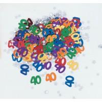 40th Confetti