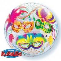 """Masquerade 22"""" Single Bubble"""