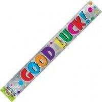 Colourful Good Luck Banner (12ft)