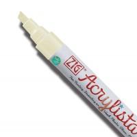 Arctic White Acrylista Chisel Pen  (6mm)