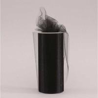 Black Tulle (15cm x 23m)
