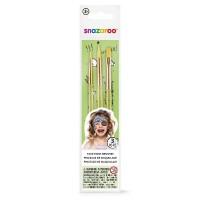 Snazaroo - Hang Pack Of 3 Brushes