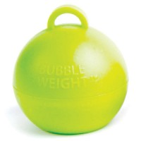Bubble Weight - Lime Green - 25ct