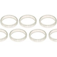 CLEAR PLASTIC BANGLE WEIGHTS (100CT)