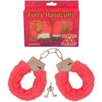 Handcuffs Fur Pink