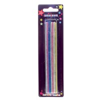 Sparkler Candles Multicoloured 16CT (Pack of 12)