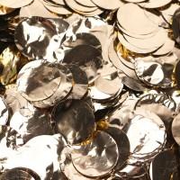 Metallic Gold Dots Foil Confetti (100g)