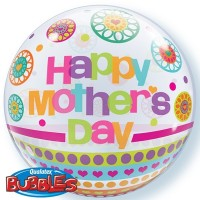 Happy Mother's Day - Dots and Patterns 22inch Bubble