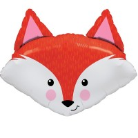 "Fabuloux Fox  33""  Supershape Foil Balloon"