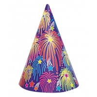 Hat - Cone Shape Balloons Child - 8ct.