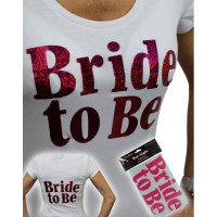 Iron On Bride to Be Transfer