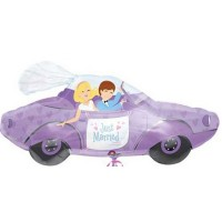 "Just Married 34"" Shape Foil Balloon"