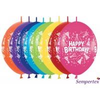 "LOL12 - 12"" Happy Birthday Party Hats - Fashion Assortment - 50pcs"
