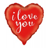 "I Love You - 18"" Foil Balloon"
