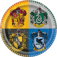 "Harry Potter 9"" Plates 8ct"