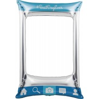 """Inflatable Photo Frame - Social Snaps 21"""" x 31"""""""