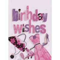#22 Greeting Cards - Open Female 12pk