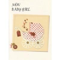 #85 Greeting Cards - Baby Girl 12pk