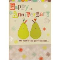 #93 Greeting Cards - Anniv 12pk