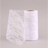 White Lace Mesh (15cm x 10m)