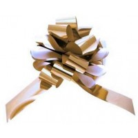 Metallic Gold Pull Bow 50mm - Pack of 20