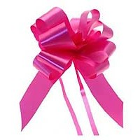 Cerise Pull Bow 50mm - Pack of 20